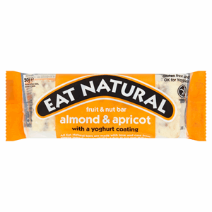 Eat Natural Fruit & Nut Bar Almond & Apricot 50g Image