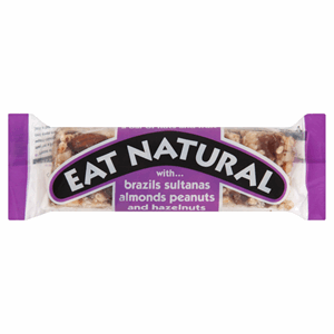 Eat Natural Fruit & Nut Bar Almond & Sultana 50g Image