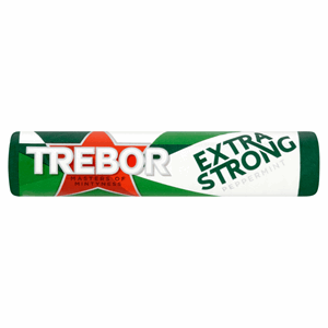 Trebor Extra Strong Peppermint Mints Roll 41.3g Image