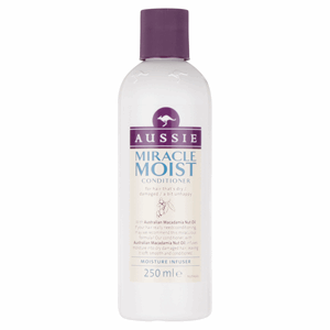 Aussie Miracle Moist Conditioner For Dry, Really Thirsty Hair 250ML Image