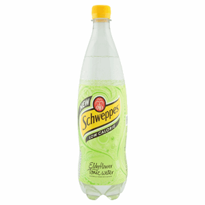 Schweppes Slimline Elderflower Tonic Water 1L Image