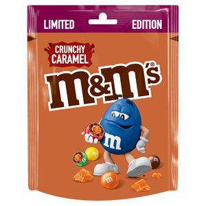 M&M's Limited Edition Crunchy Caramel 109g Image
