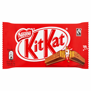 KITKAT 4 Finger Milk Chocolate Bar 41.5g Image
