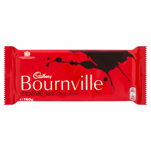 Cadbury Bournville Classic Dark Chocolate Bar 180g Image