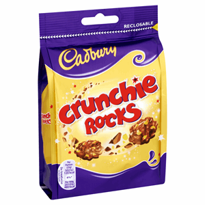 Cadbury Crunchie Rocks Chocolate Bag 110g Image