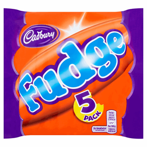 Cadbury Fudge Bar 5 Pack 127.5g Image