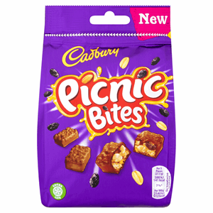 Cadbury Picnic Bites Chocolate Bag 110g Image