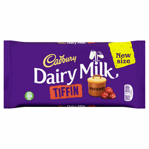 Cadbury Dairy Milk Tiffin Chocolate Bar 200g Image