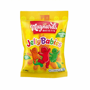 Maynards Bassetts Jelly Babies Sweets Bag 190g Image