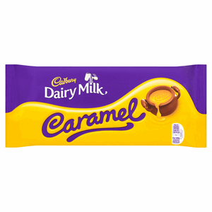 Cadbury Dairy Milk Caramel Chocolate Bar 200g Image