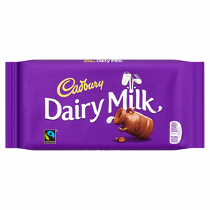 Cadbury Dairy Milk Chocolate Bar 200g Image