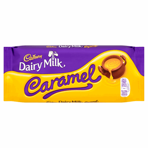 Cadbury Dairy Milk Caramel Chocolate Bar 120g Image
