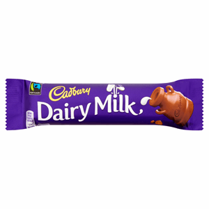 Cadbury Dairy Milk Chocolate Bar 45g Image