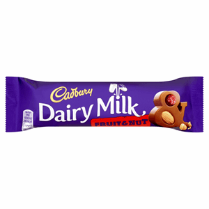Cadbury Dairy Milk Fruit and Nut Chocolate Bar 49g Image