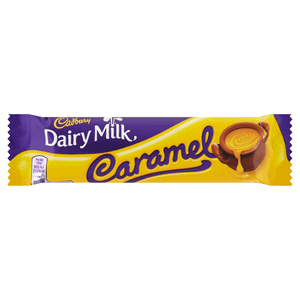 Cadbury Dairy Milk Caramel Chocolate Bar 45g Image