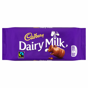 Cadbury Dairy Milk Chocolate Bar 110g Image