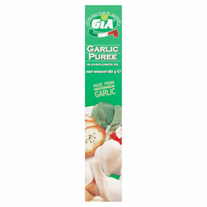 Gia Garlic Puree in Sunflower Oil 90g Image