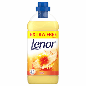 Lenor Fabric Conditioner Summer Breeze Scent 1.19L 34 Washes Image