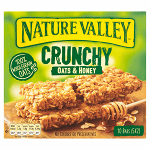 Nature Valley Crunchy Oats & Honey Bars 5 x 42g (210g) Image