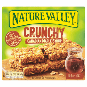 Nature Valley Crunchy Canadian Maple Syrup Bars 5 x 42g (210g) Image