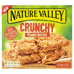 Nature Valley Crunchy Peanut Butter 5 x 42g (210g) Image