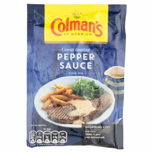 Colman's Pepper Sauce Mix 40g Image