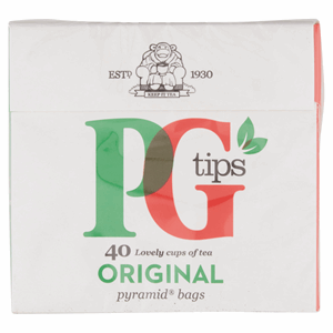 PG tips 40s Pyramid Teabags 116g Image