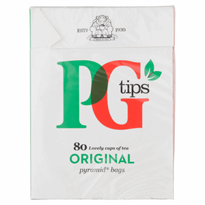 PG tips 80s Pyramid Teabags 232g Image