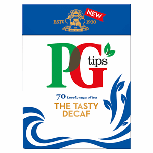 PG tips Decaffeinated 70 Tea Bags Image