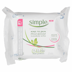 Simple Kind To Skin Micellar Cleansing Wipes Image