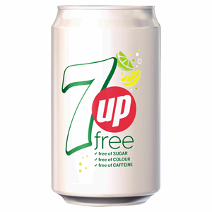 7UP Free 330ml Image