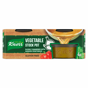 Knorr Vegetable Stock Pot 4 x 28g (112g) Image