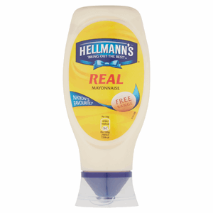 Hellmann's Real Squeezy Mayonnaise 430ml Image