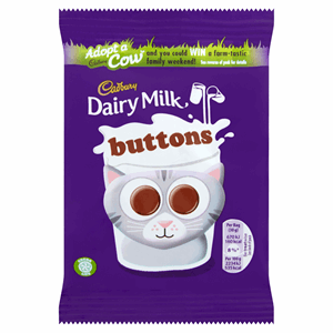 Cadbury Dairy Milk Buttons Chocolate Bag 30g Image