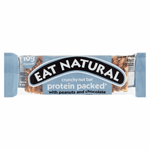 Eat Natural Protein Packed Peanuts and Chocolate 45g Image